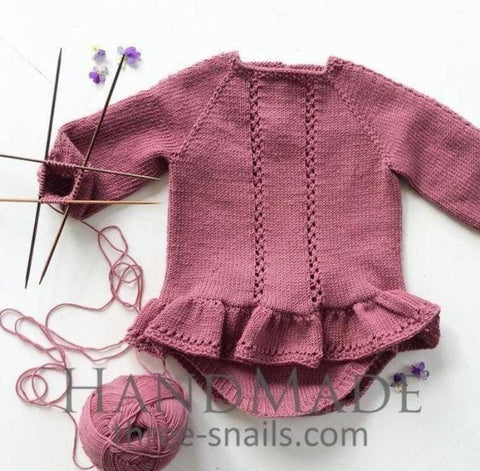 Long Sleeve Bodysuit For Baby Girls - Baby Clothes