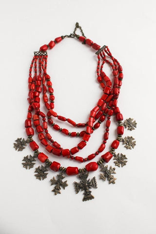 Luxury Ukrainian Necklace Panna - Melnichenko1
