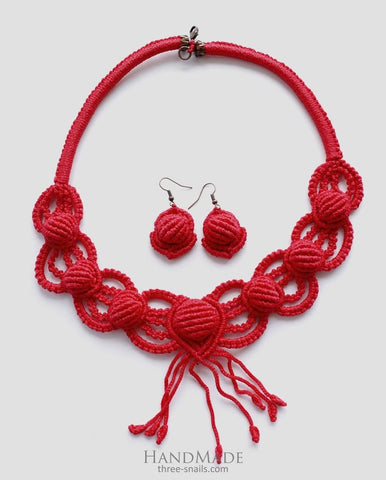 unusual handmade necklaces