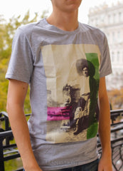 Man T-Shirt Ukrainian Man In Straw Hat. - Melnichenko1
