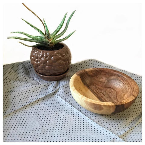 Natural Wood Bowl - Bowl