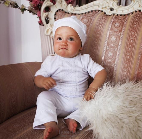 Newborn Clothes. Baby Boy Baptism Outfit - Baptism Outfit