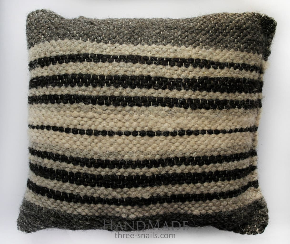 Organic Pillow Black And White - Pillow