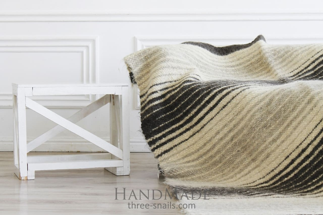 Plaid Blanket Wool - Blanket