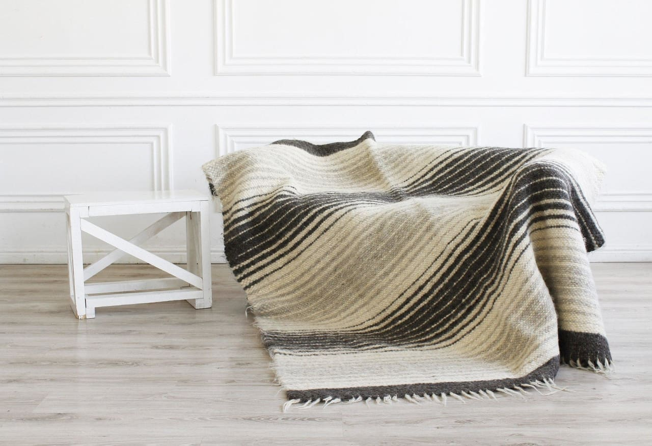 wool throw blankets