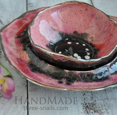 Plate Sets Poppy - Plate