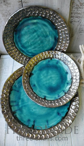 Plate Sets Turquois Lake - Plate