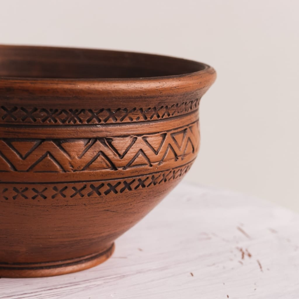 Pottery Bowl Ircle - Bowl