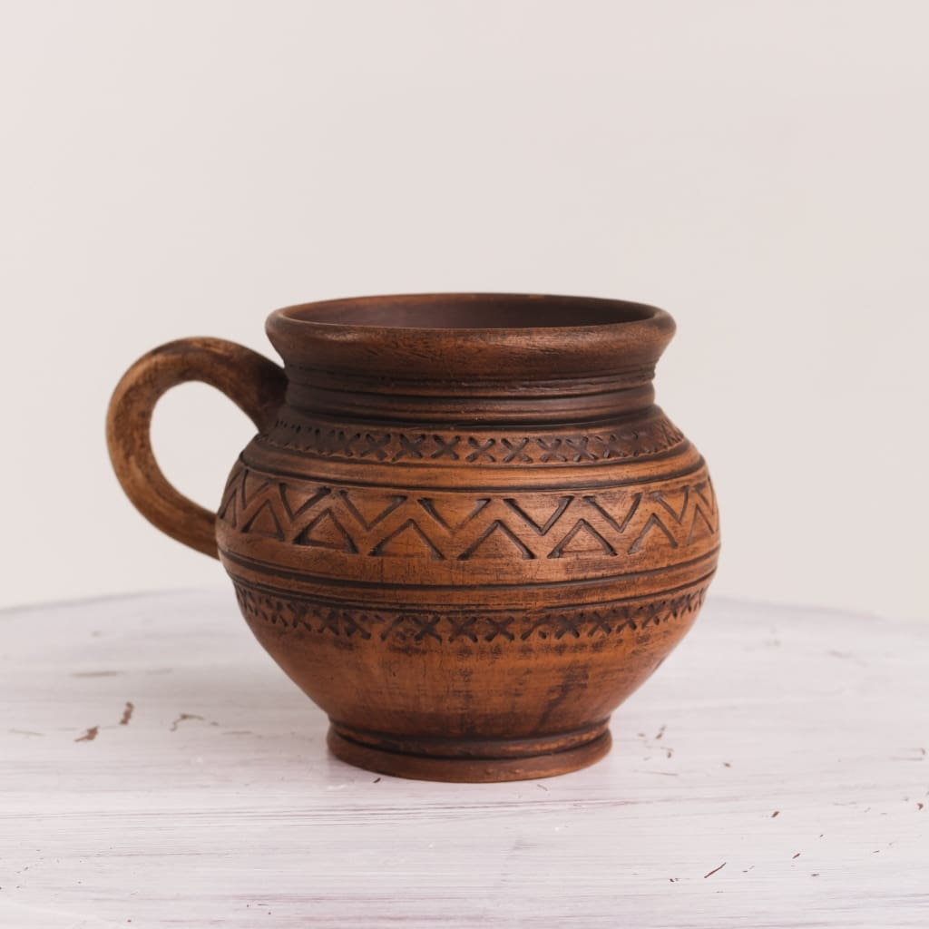 "Pottery cup ""Coffee berry"" - 1"