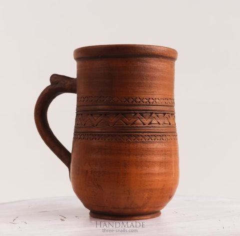 rustic pottery