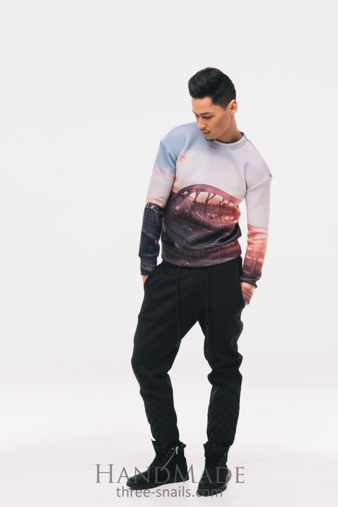 Printed Sweatshirt Kirpa Bridge - Vasylchenko1