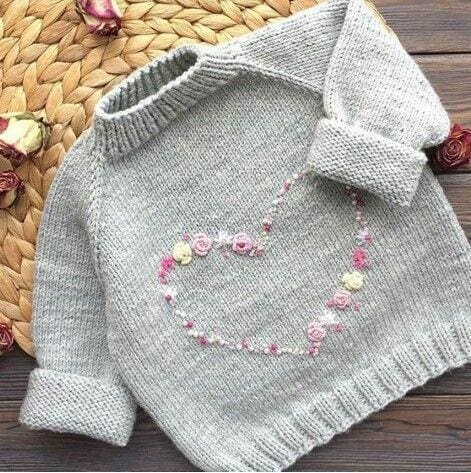 Pullover For Baby Girls - Baby Clothes
