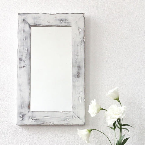 Reclaimed Wall Mirror Rustic - Mirror