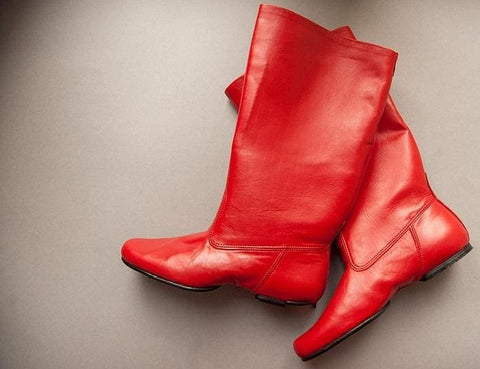 Red Dance Boots - Shoes