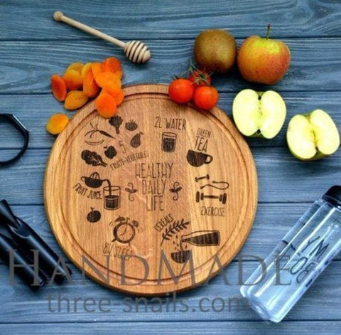 Round Cutting Board For Pizza - Cutting Board