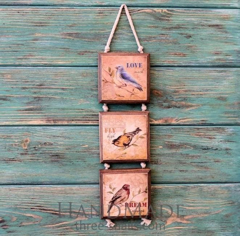 Rustic Wood Sign Fly Dream - Vasylchenko1