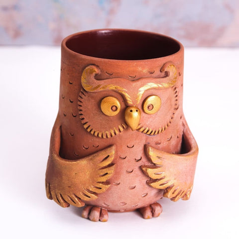 Eramic Mugs Owl - Cup And Mug