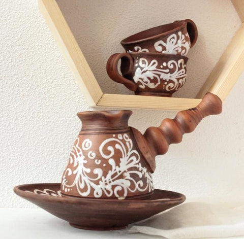Set For Coffee Aroma-Brown - Coffee Set