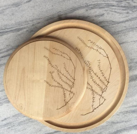 Set Of 2 Round Cutting Board - Cutting Board