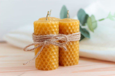 Set Of Honey Candles Honey Dream - Candle Set