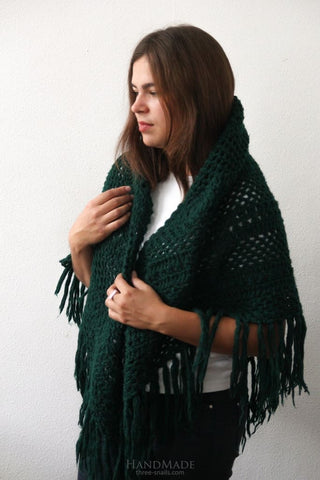 Shawls And Wraps Emerald - Vasylchenko1