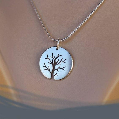 Silver Pendant Tree Of Life - Pendant