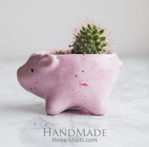 Small Animal Succulent Pot - Plant Pot