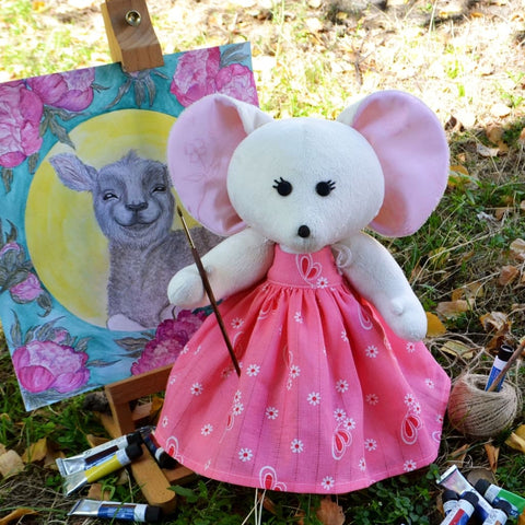 Soft Toy Mousy Lesi - Toy