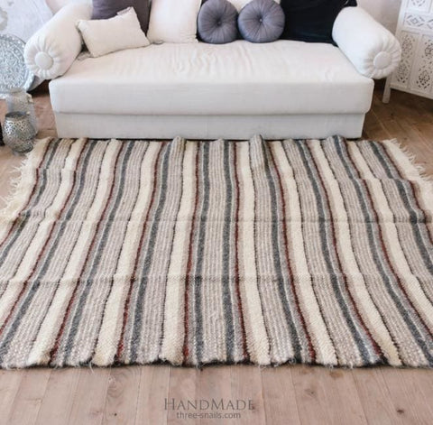 Square Rug For Living Room Casual - Rug