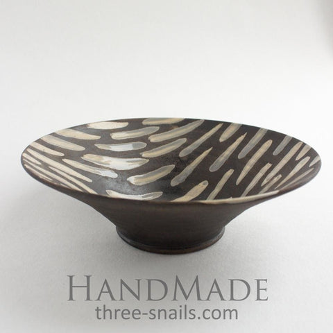 Stylish Ceramic Bowl Dark Desire - Bowl