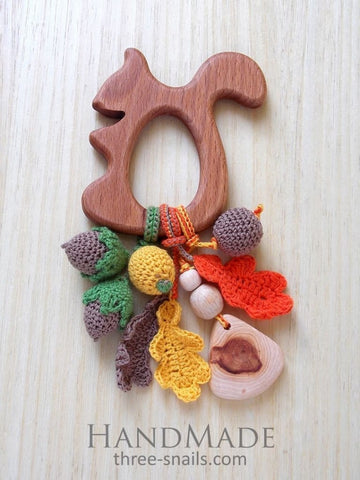 Teether Squirrel - Toy