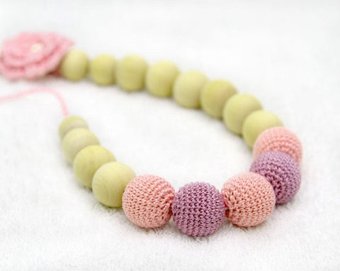Teething Necklace Flower - Toy
