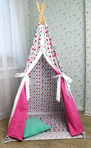 Tents For Kids With Hearts - Toy