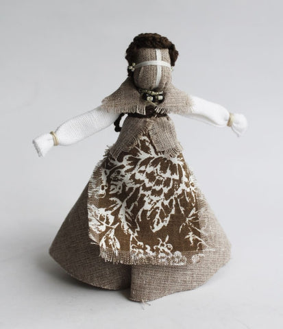 Ukrainian Folk Doll Housewife - Motanka Doll