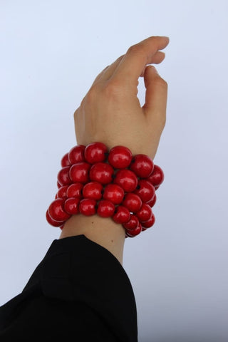 Unique Bracelets Red Berries - Vasylchenko1