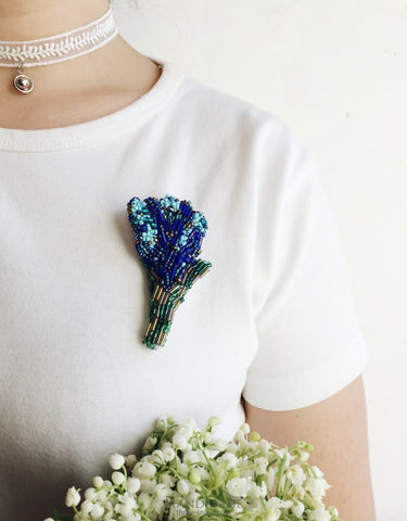 Unique Handmade Brooches Flower - Vasylchenko1