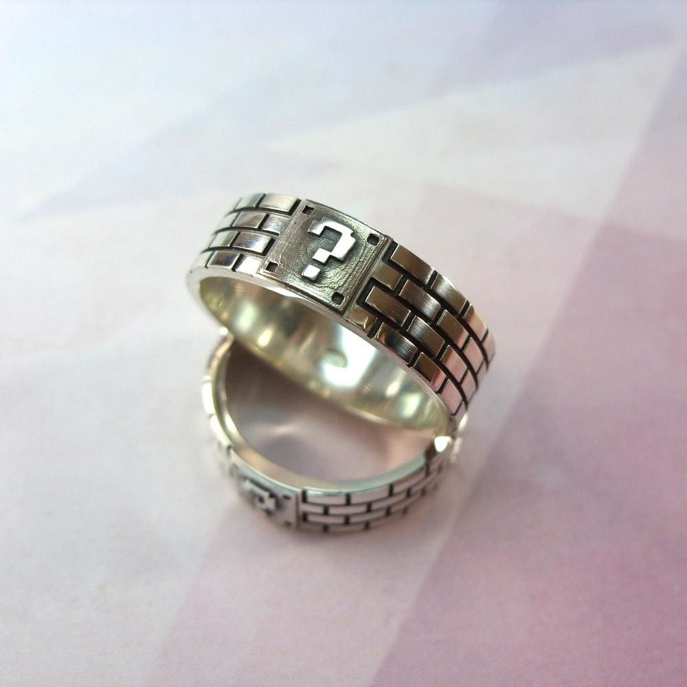Unique Silver Mens Ring. Hand Carved Ring - Vasylchenko1