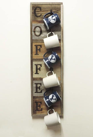 Vertical Coffee Mug Rack - Cup Holder