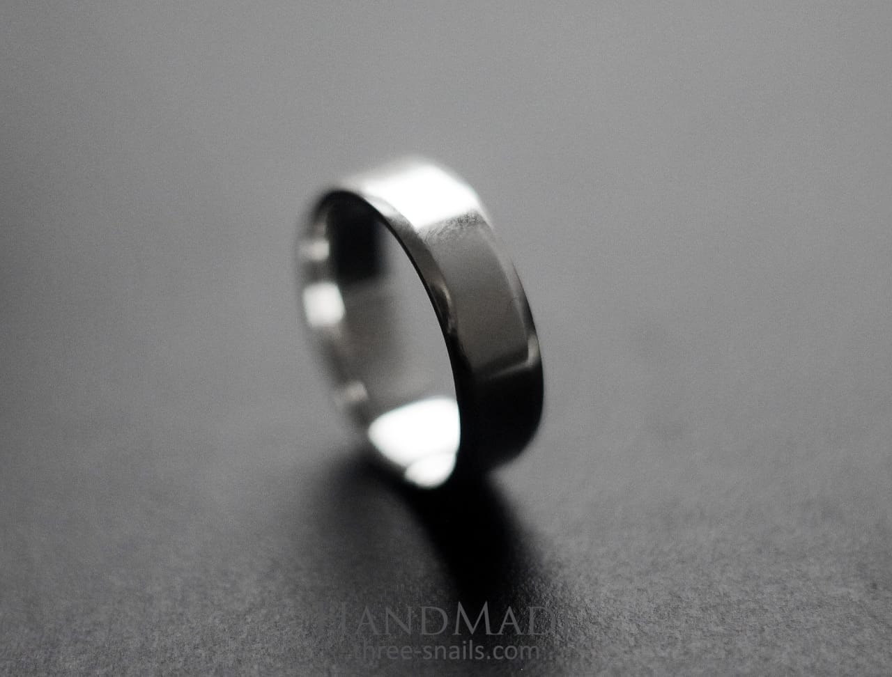 Wedding Ring With Beveled Edges - Melnichenko1