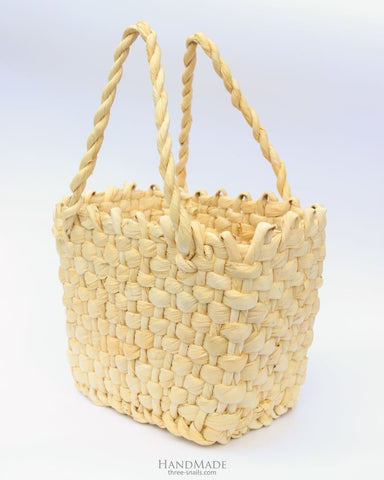 Wicker Basket Bag - Vasylchenko1