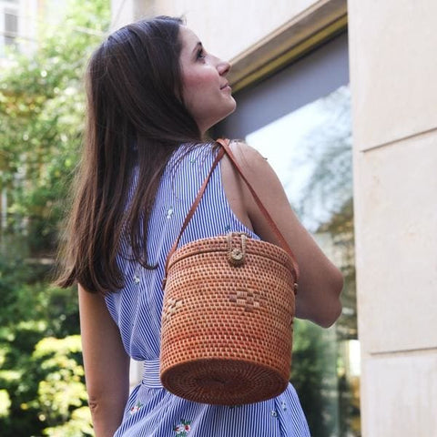 Wicker Basket - Bag