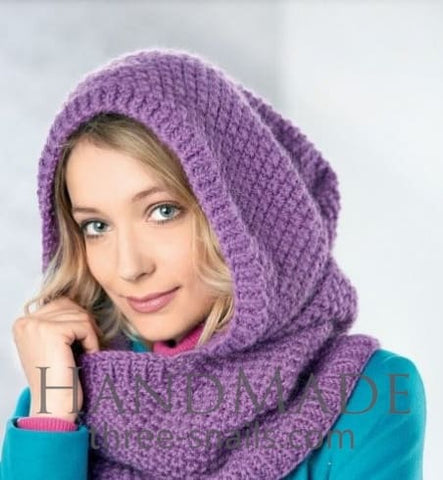Women Hooded Scarf - Popovichenko