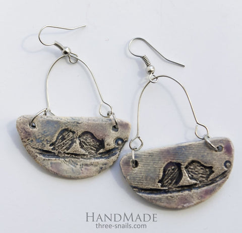 Womens Earrings Tweet - Melnichenko1