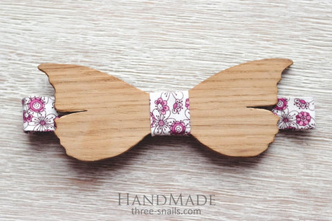 Wood Bow Tie Butterfly - Melnichenko1