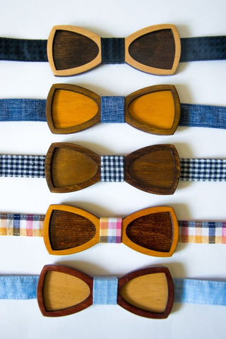 Wood Bow Tie Novelty - Vasylchenko1