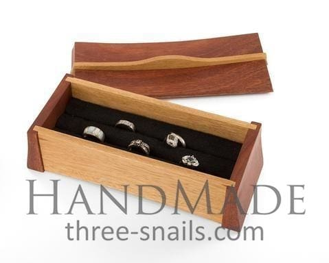 Wood Multi-Ring Box - Vasylchenko1