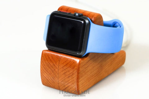 Wooden Apple Watch Stand Small - Vasylchenko1