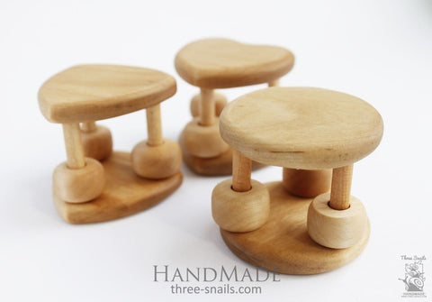 Wooden Baby Toy Happy Day - Toy