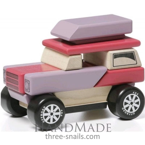 Wooden Car Toy - Toy