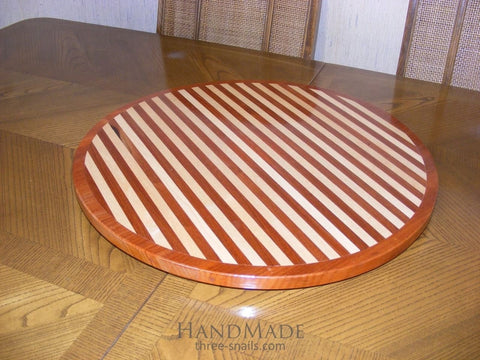 Wooden Carved Round Board - Cutting Board
